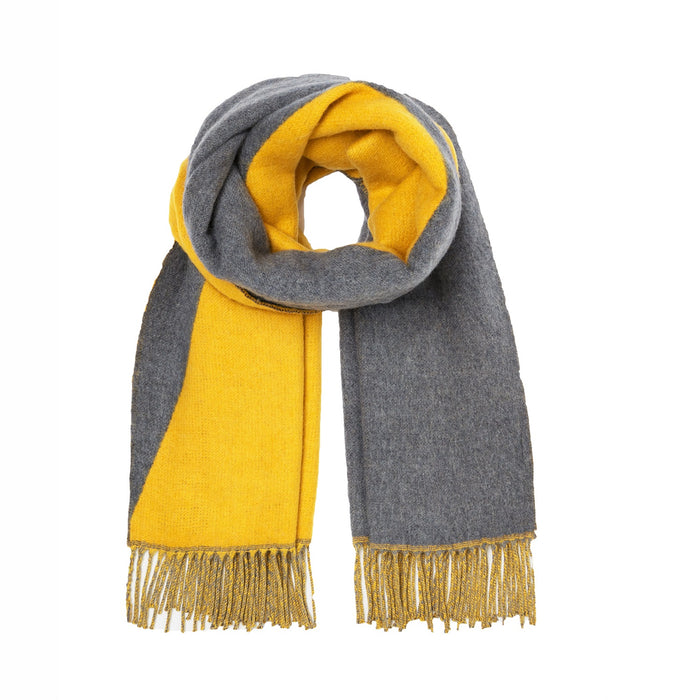 Women's Joules Langford Reversible Scarf Antique Gold