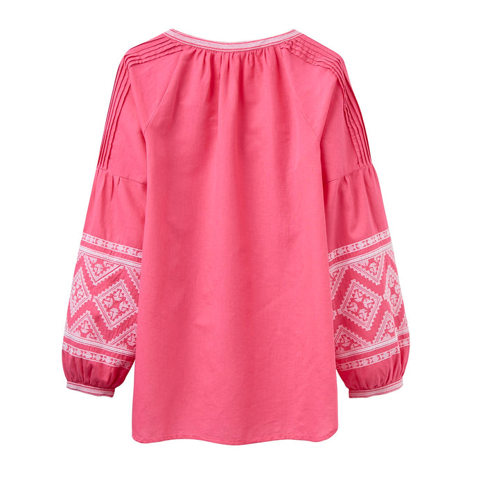 Women's Joules Yolanda Embroidered Blouse