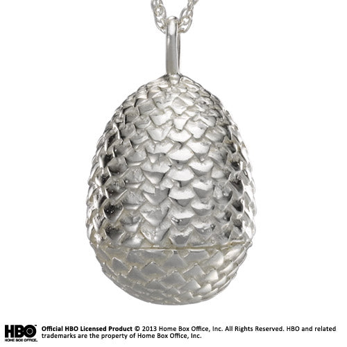 Game Of Thrones - Sterling Silver Dragon Egg Pendant
