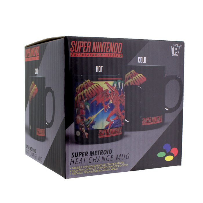 (Sd)Super Metroid Heat Change Mug