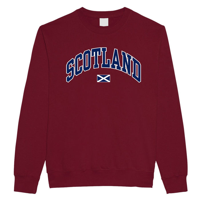 Edinburgh Harvard Adult Sweatshirt Maroon