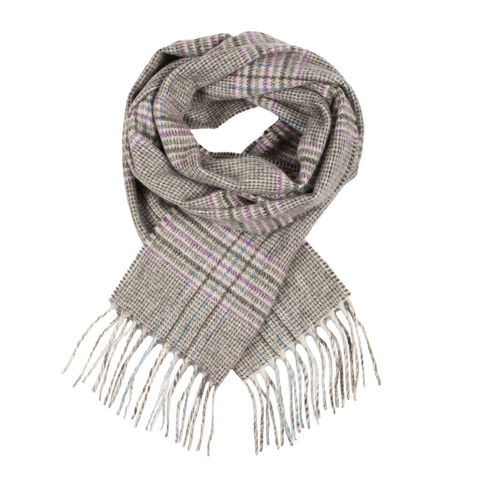 Cashmere Tweed Check Scarf