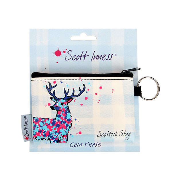 Scott Inness Coin Purse Stag