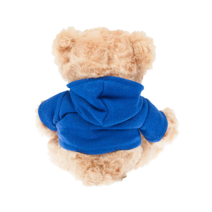 15Cm Teddy Bear With Saltire Hooded Top