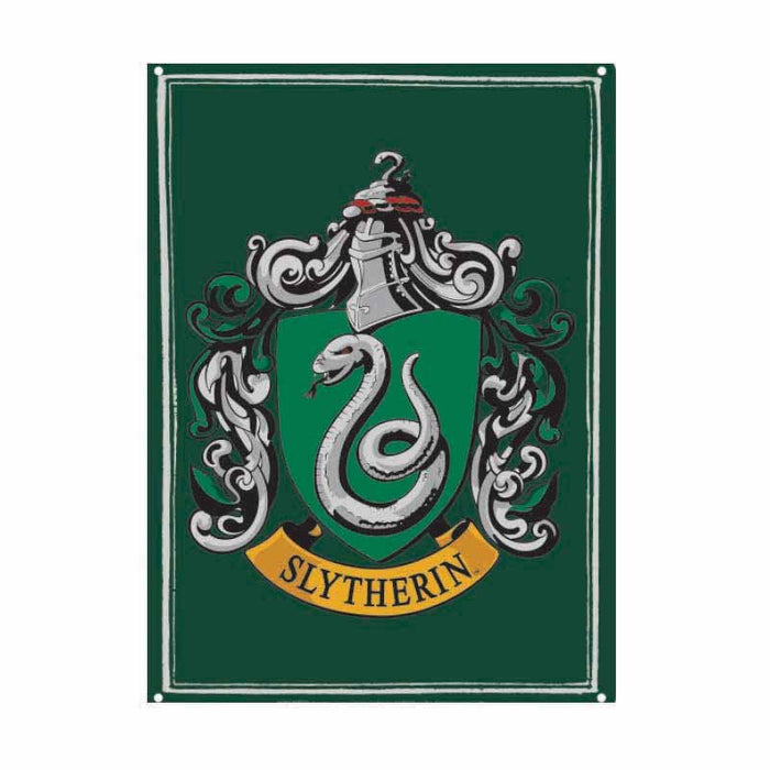 Tin Sign Small - Hp (Slytherin)