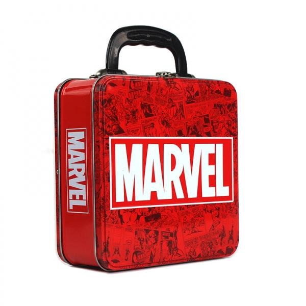 Tin Tote (Embossed) - Marvel (Logo)