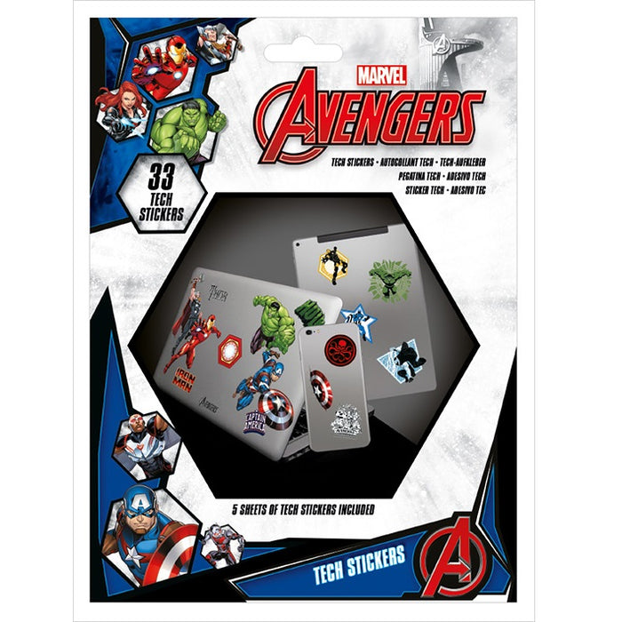 Avengers (Heroes) Tech Stickers