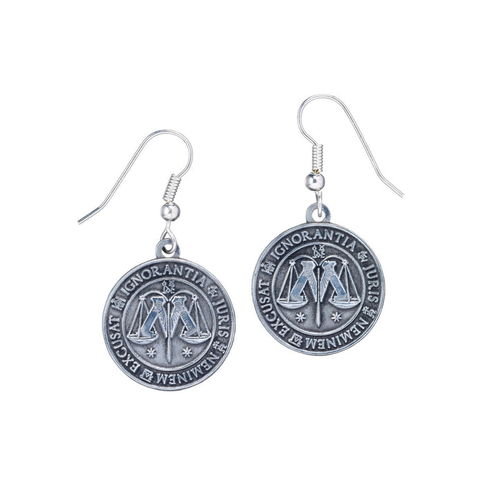 Harry Potter - Earrings Ministry Of Magic