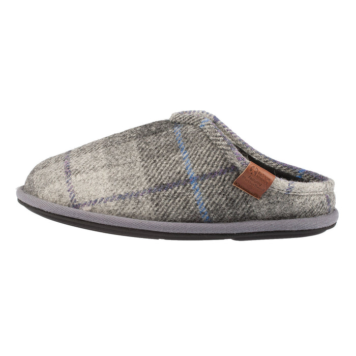 Men's William Harris Tweed Mule Slipper