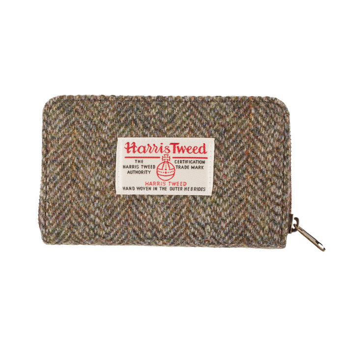 Amy Harris Tweed Zip Wallet