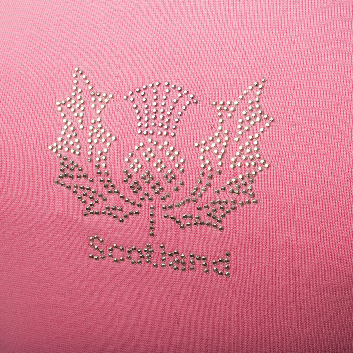 Ladies Thistle Top Pink