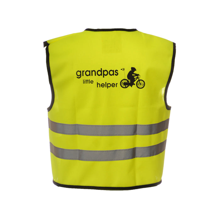Hi Vis Vest Grandads Yellow / English Grandads Little Helper