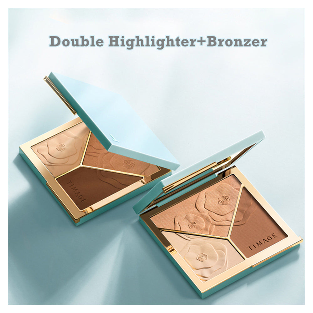 Double Highlighter+Bronzer