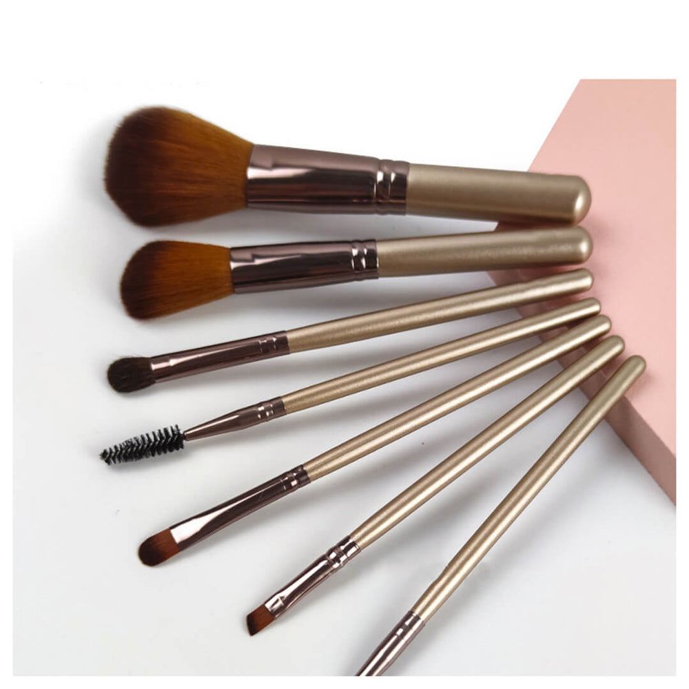 Makeup Brushes And Container