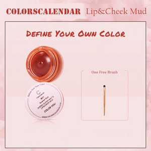 Matte Mousse Lip&Cheek Mud Full Set-Color You