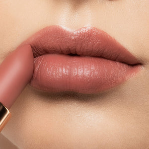 Load image into Gallery viewer, ColorsCalendar-Lipstick-MelodyFantasy-DreamWedding-Caramel Pink-M11-Lip Detail