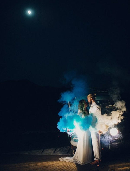 Colored Smoke Shells/ Flares/ Smoke Bomb – 30 Seconds Best Timing For Photography Effect , Parties , Wedding, Universities Sports Gala