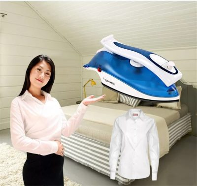 Mini Portable Electric Steam Iron for Home & Travelling