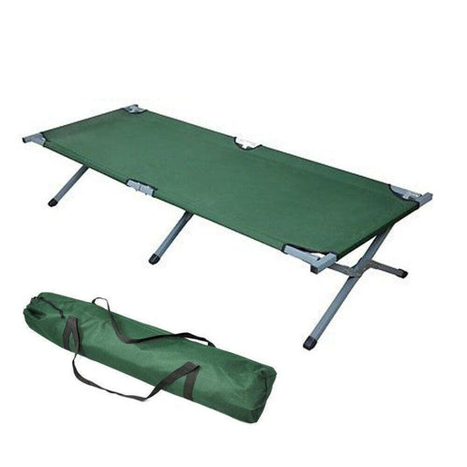 "75"" Portable Folding Camping Bed & Cot Europe Imported High Quality"