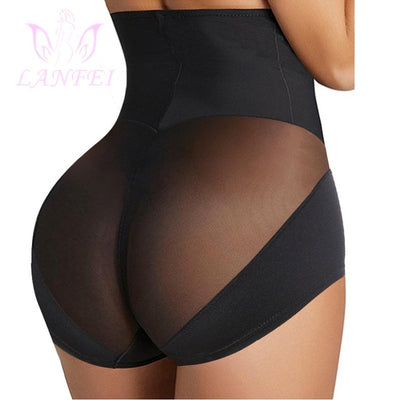 LANFEI Womens High Waist Trainer Body Shaper Panties Faja Tummy Control Slimming Seamless Underwear Shapewear Butt Lifter Briefs