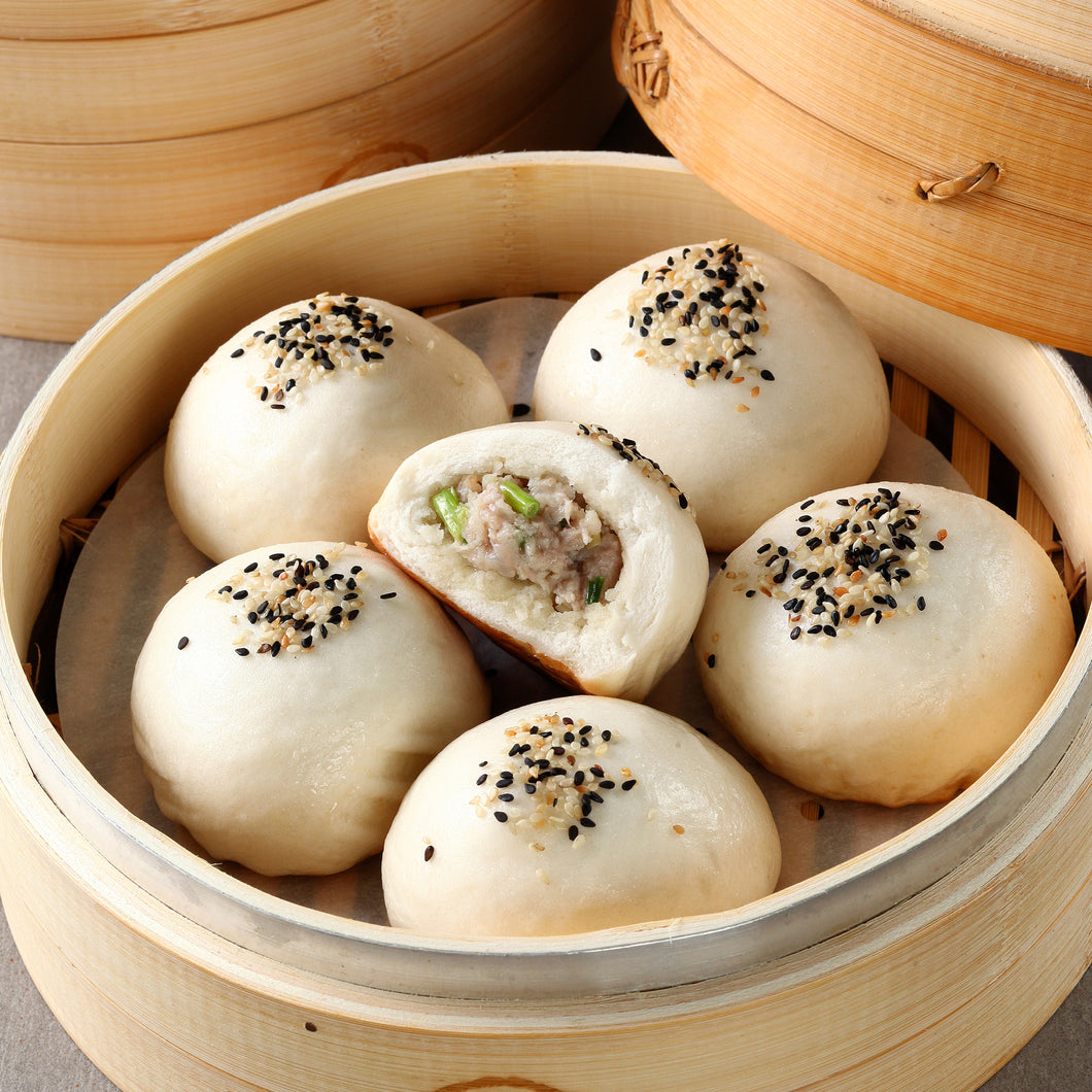 Pan Fried Siopao