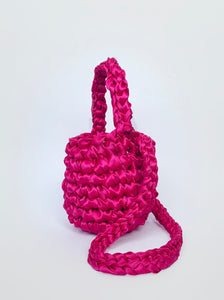 Crossbody Small Hive - Hot Pink