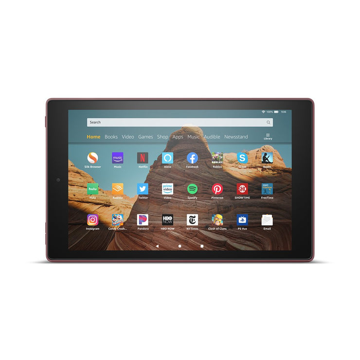 Amazon Fire HD 10 - Plum 32 GB