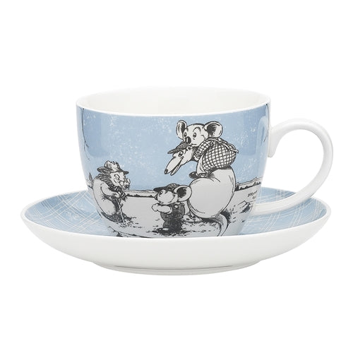 Blinky Bill Tea Cup & Saucer - Blue