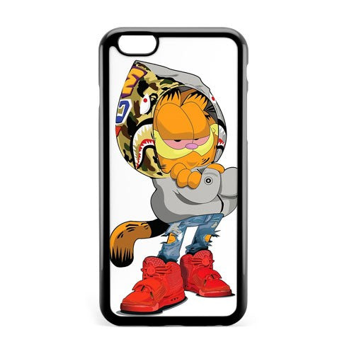 New Sup Garfield Bape iPhone 8 Plus Phone Case Cover