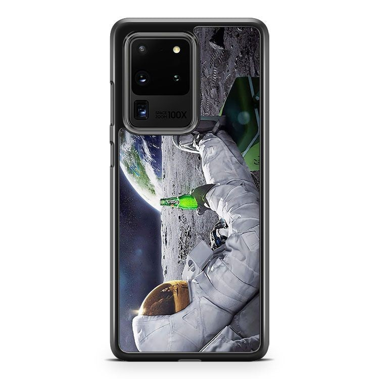Astronaut Space Universe Enjoy A Beer Samsung Galaxy S20 Ultra Phone Case Cover