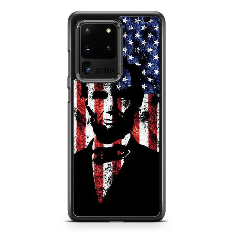 Abraham Lincoln Samsung Galaxy S20 Ultra Phone Case Cover