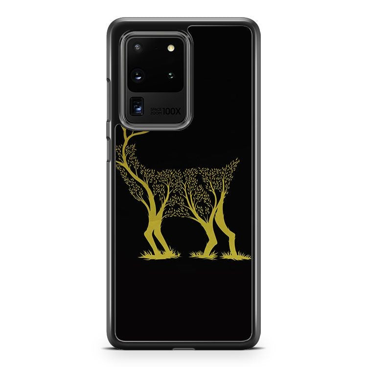 Amazing Deer Tree Samsung Galaxy S20 Ultra Phone Case Cover
