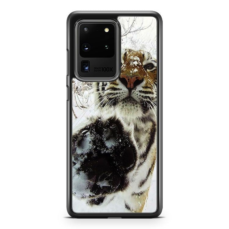 Cover Tiger On The Snow Samsung Galaxy S20 Ultra Phone Case Cover
