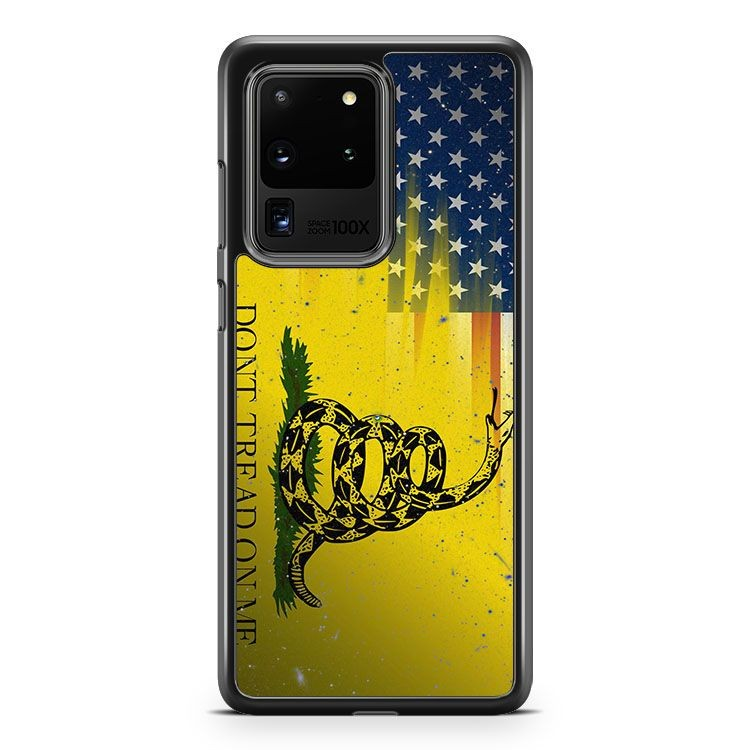American Gadsden Flag Worn Samsung Galaxy S20 Ultra Phone Case Cover