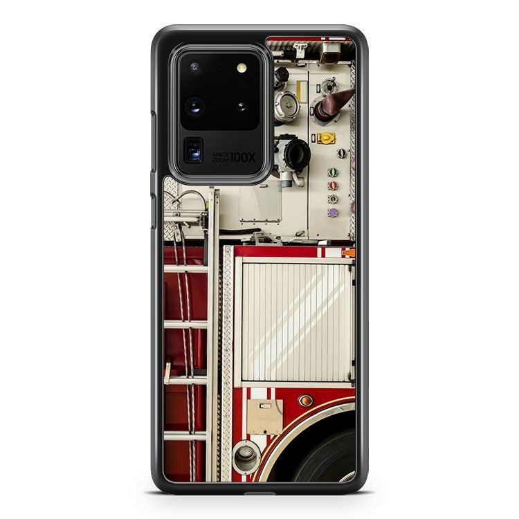 1577 Firefighter Engine Truck Samsung Galaxy S20 Ultra Phone Case Cover