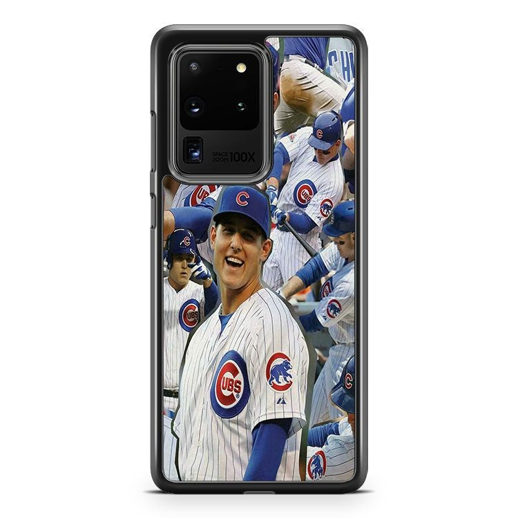 Anthony Rizzo Chicago Cubs MLB Rookie Samsung Galaxy S20 Ultra Phone Case Cover