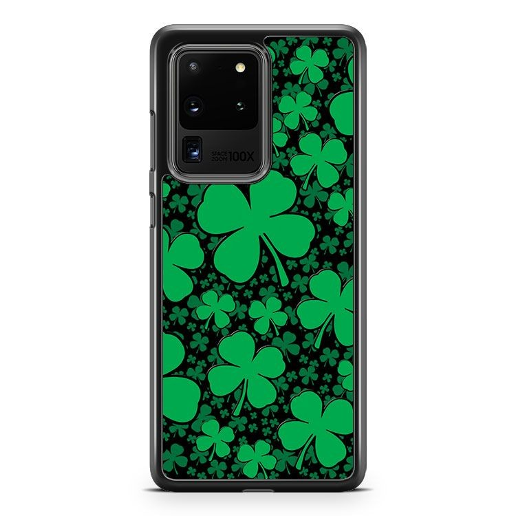 A Shamrock Field For St Patrick's Day Samsung Galaxy S20 Ultra Phone Case Cover