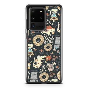 Animal Kingdom Samsung Galaxy S20 Ultra Phone Case Cover