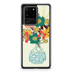 Autumn Blooms Samsung Galaxy S20 Ultra Phone Case Cover