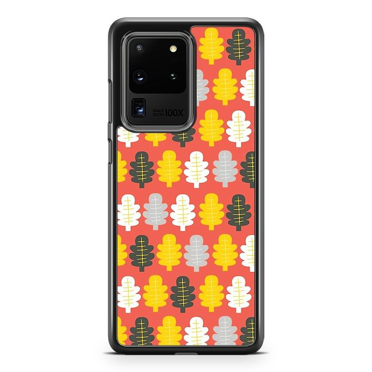 Autumn Leaves Samsung Galaxy S20 Ultra Phone Case Cover