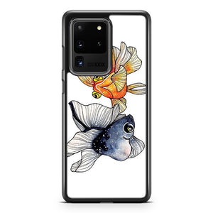 Goldfishes Samsung Galaxy S20 Ultra Phone Case Cover