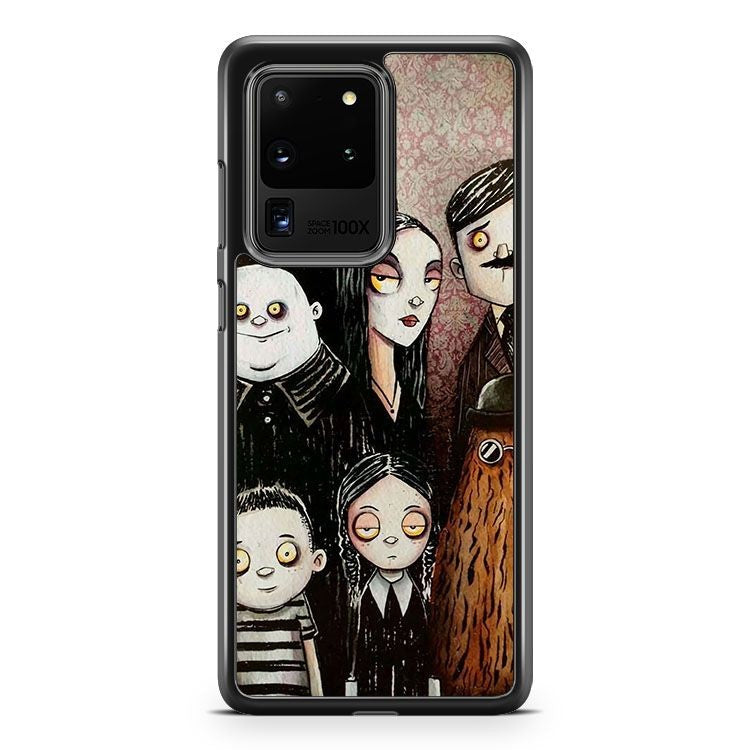Addams Family Wednesday Samsung Galaxy S20 Ultra Phone Case Cover
