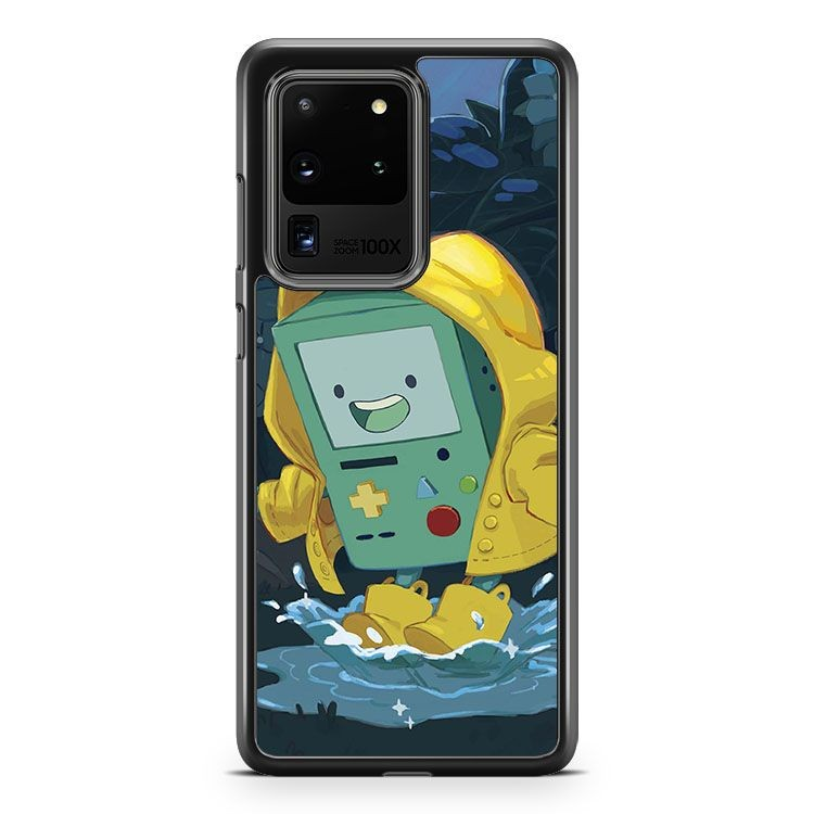 Adventure Time Bmo Yellow Coat Samsung Galaxy S20 Ultra Phone Case Cover