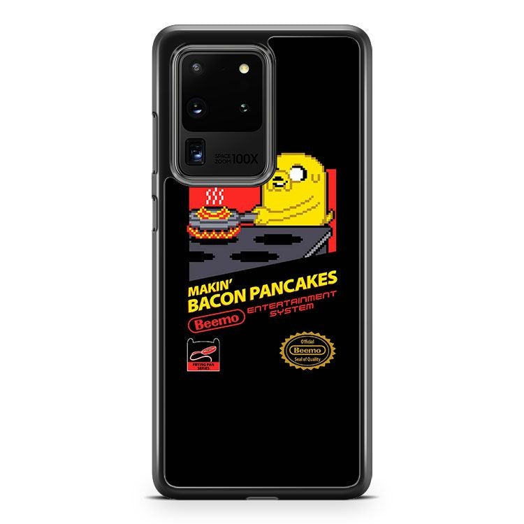 Adventure Time Makin Bacon Pancakes Samsung Galaxy S20 Ultra Phone Case Cover