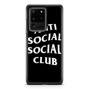Anti Social Social Club Custom Logo Tee Samsung Galaxy S20 Ultra Phone Case Cover