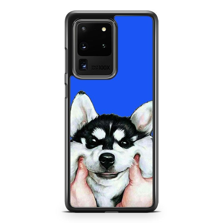 Beautiful Siberian Husky Samsung Galaxy S20 Ultra Phone Case Cover