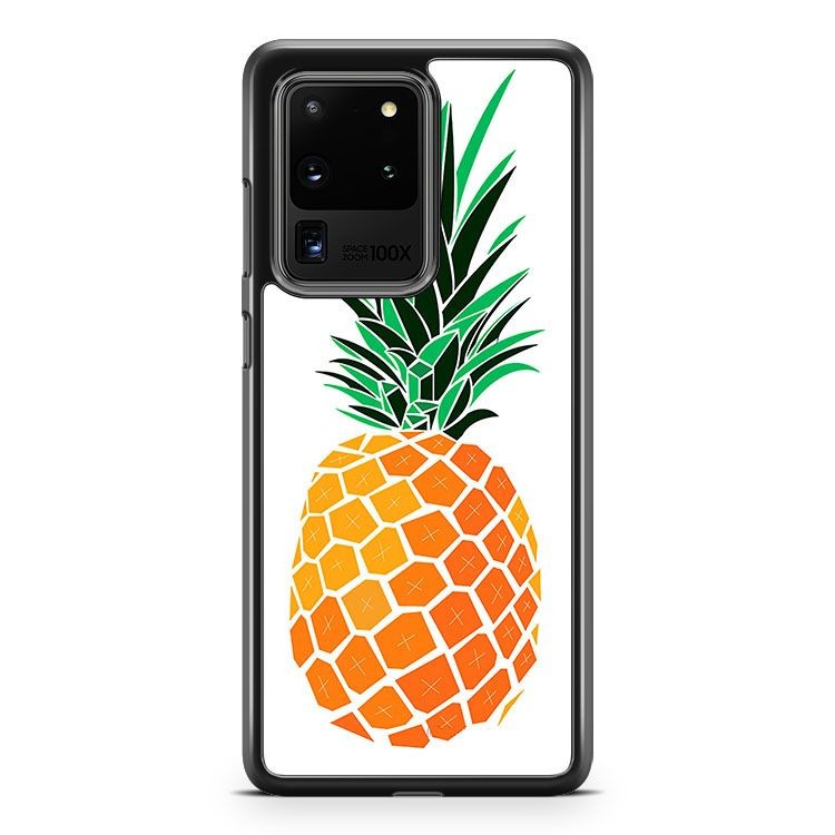 Cartoon Pineapple Samsung Galaxy S20 Ultra Phone Case Cover