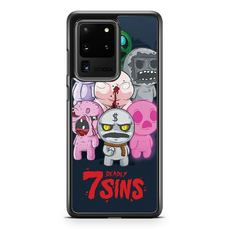 7 Deadly Sins The Binding Of Isaac Samsung Galaxy S20 Ultra Phone Case Cover