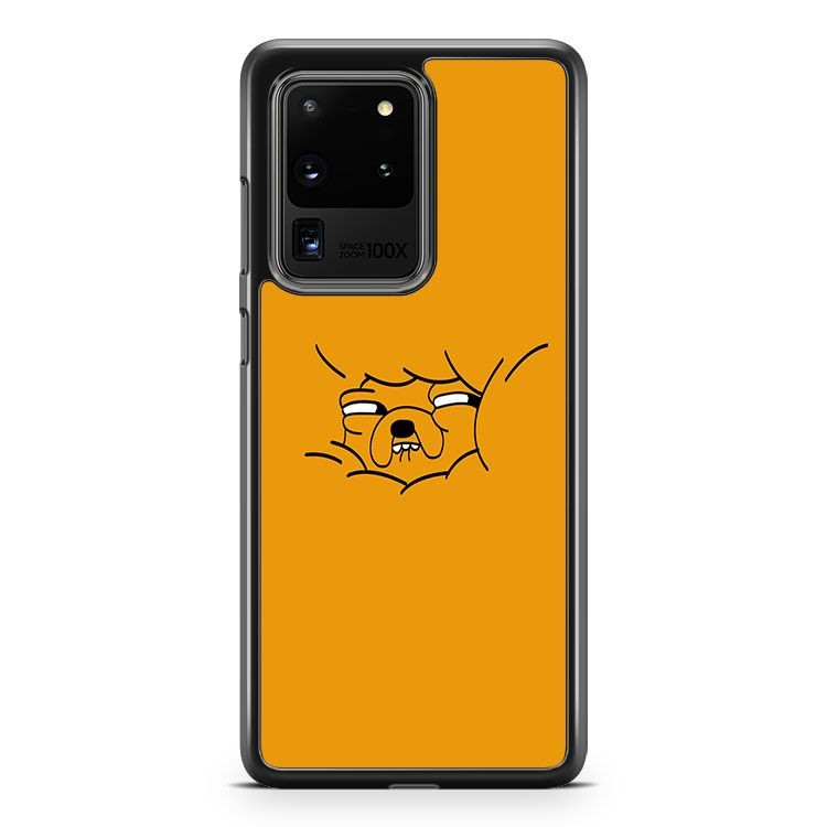 Adventure Time Jake Orange Samsung Galaxy S20 Ultra Phone Case Cover