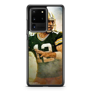Aaron Rodgers Green Bay Packers 5 Samsung Galaxy S20 Ultra Phone Case Cover